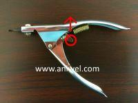 ギロチン型爪切り分解方法