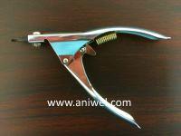 ギロチン型爪切り