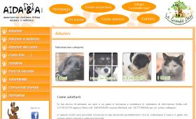 イタリアの動物愛護団体AIDAAのHPです。イタリアの動物愛護団体AIDAAのHPです。